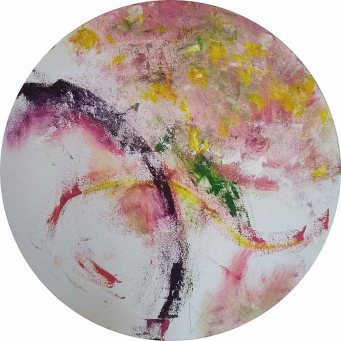 Annabel circle painting